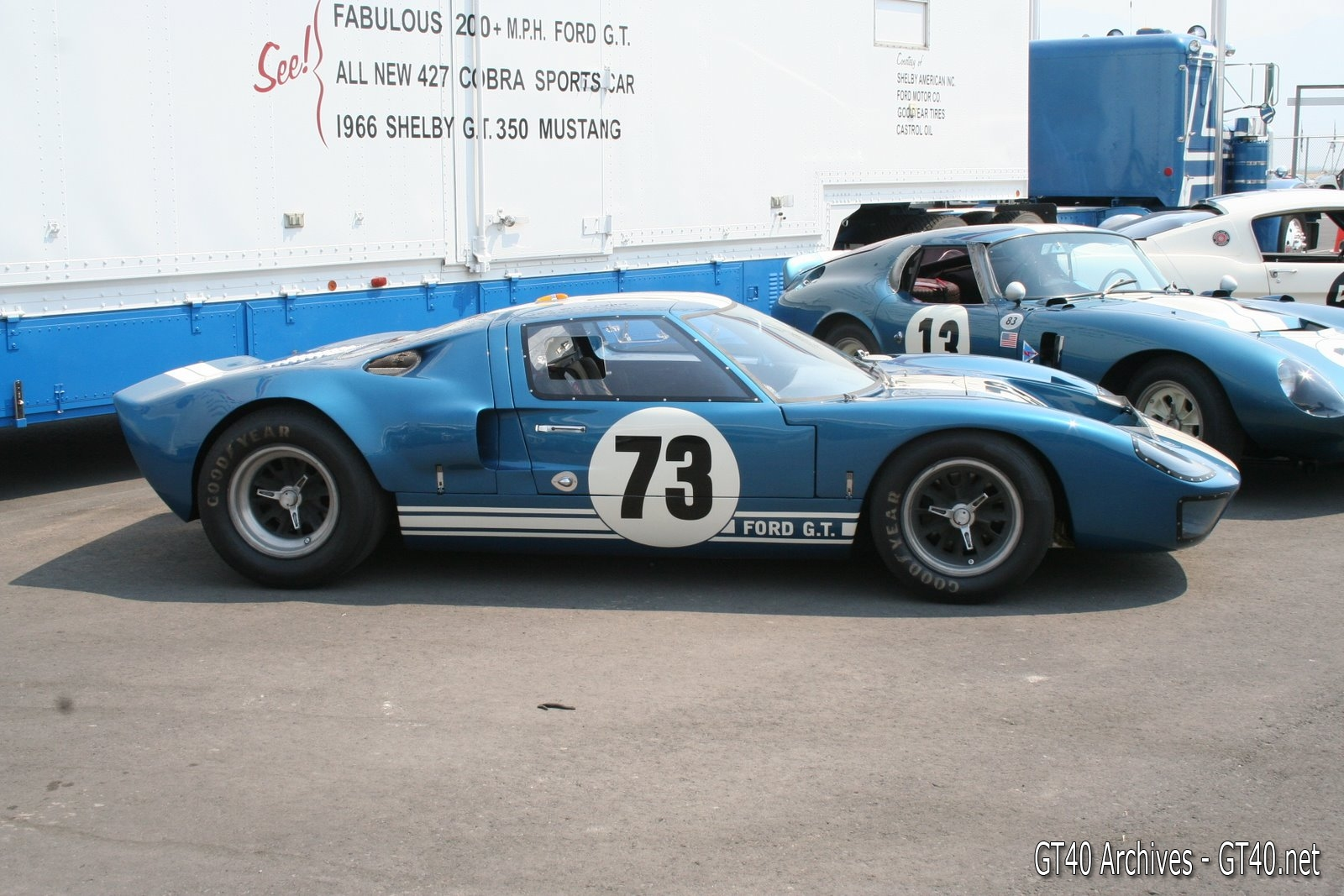 Ford GT40 chassis number GT 103 - 1 - GT40 Archives