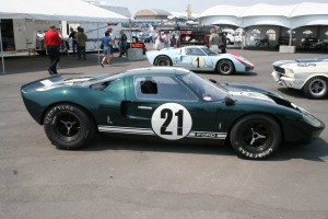 Green GT40 – unknown chassis number