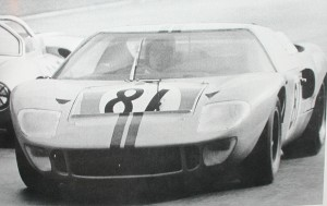GT40 P/1001 on track photo