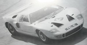 GT40 P/1002 on track
