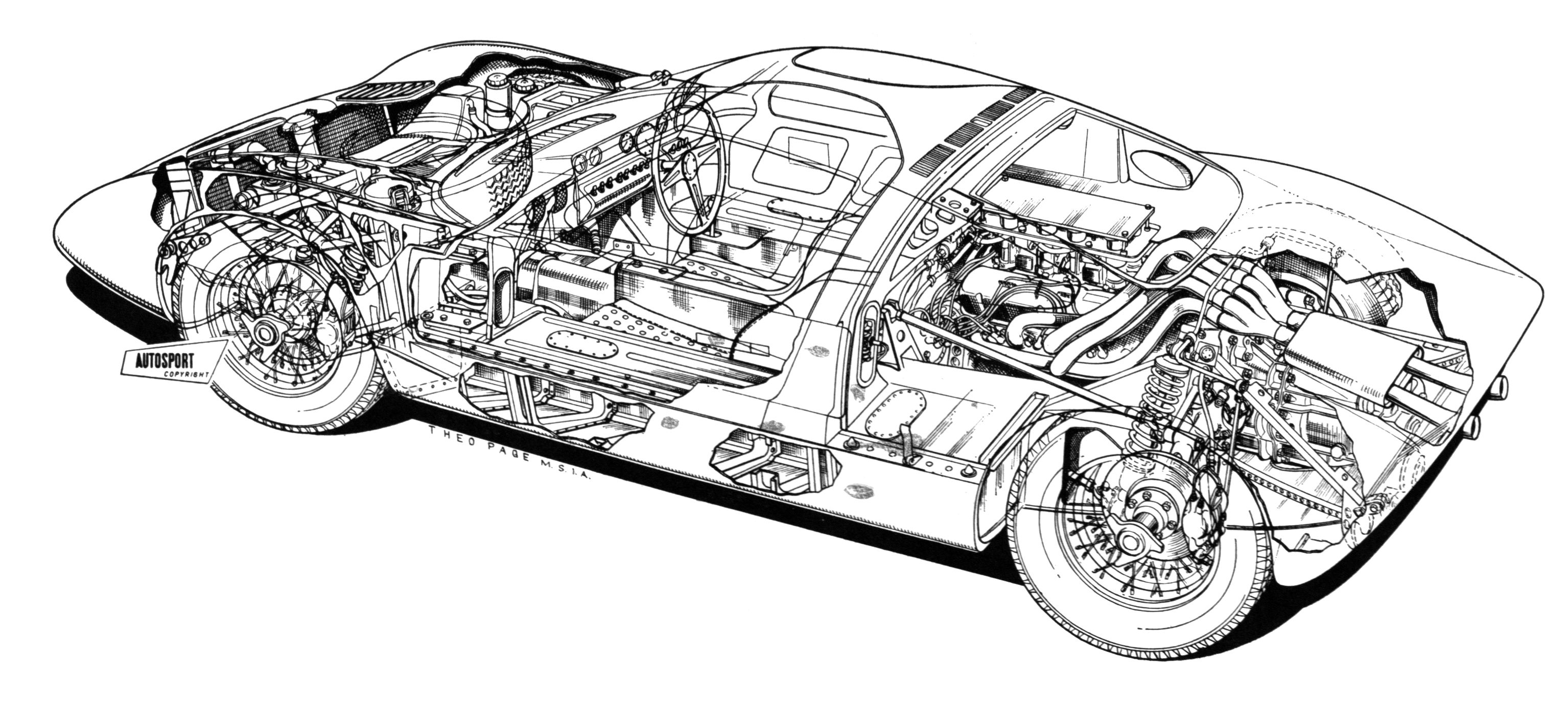 gt40 cutaway collection