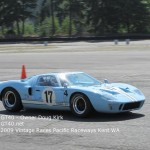 GT40 - Owner Doug Kirk - Photo at 2007 Vintage races Pacific raceways Kent wa - 2 - GT40.net