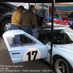 GT40 - Owner Doug Kirk - Photo at 2007 Vintage races Pacific raceways Kent wa - 7 - GT40.net