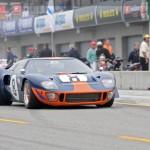 GT40 P/1051 on track - Rolex Monterey Motorsports Reunion 2 - GT40.net