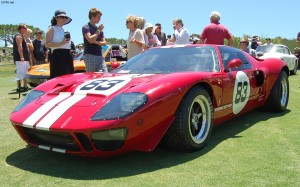 1969 Ford GT40 at 2012 Dana Point Concours D'Elegance