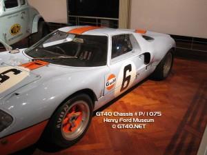 GT40 P/1075 Photos