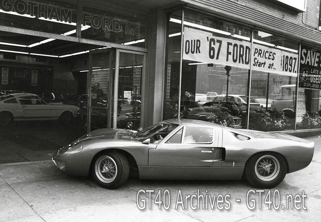 Street version of the GT40, the MKIII circa 1967