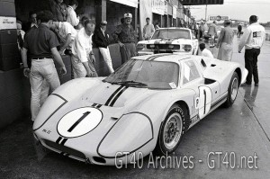 Winning Ford Mk IV at Sebring 1967