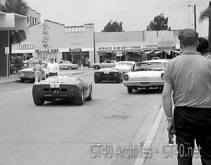 GT40 Tech Inspection Downtown Sebring