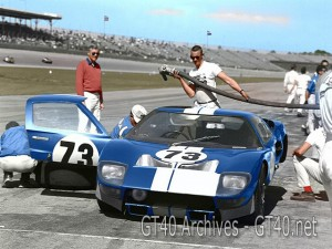 Winning Shelby GT40 – Daytona 65