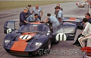 J.W. Automotive Ford GT40 at Daytona 1967