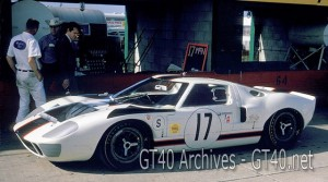Ford GT40 at Sebring 1967