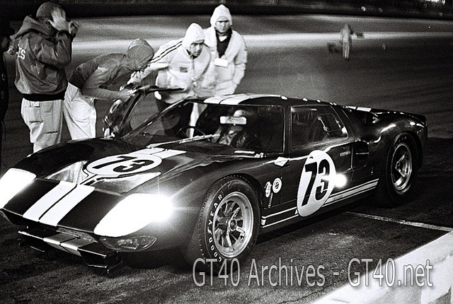 Winning Ford GT40 at Daytona 1965