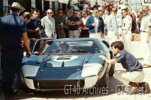 Gurney – Grant Ford Mk. II at Sebring 66